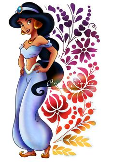Simply stunning. Exactly how I remember her from 1993, when Aladdin first came out. I love Princess Jasmine!