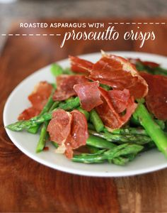 Asparagus with Prosciutto Crisps