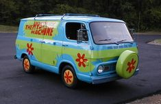 "The Mystery Machine ""Scooby Doo"""