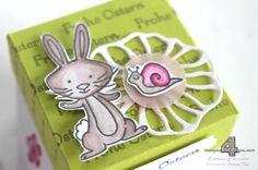 Stampin Up Ostern basteln Osternest Diamantbox We must celebrate Tranquil Tulips Kreative Vielfalt Kleine Wünsche Stanz- und Falzbrett für Geschenktüten