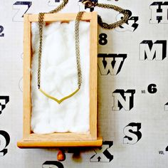 Simply Modern Multi Strand Necklace by NestPrettyThingsShop