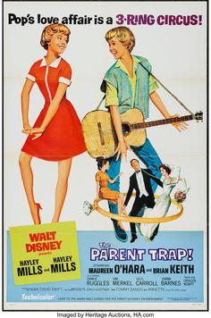 The Parent Trap (Buena Vista, R-1968).