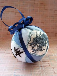 Year of the Dragon Personalized Made to Order Christmas Ornament by Ornament Designs