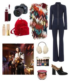 """Concert with harry"" by idil-gundogdu on Polyvore featuring moda, Exclusive for Intermix, Chloé, Gucci, Miu Miu, MAC Cosmetics, tarte, Yves Saint Laurent, Urban Decay ve Uniqlo"