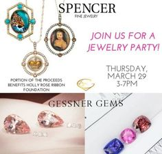 Spencer Fine Jewelry and Gessner Gems are hosting a trunk show at Utopia Plastic Surgery and Med Spa on Thursday, March 29 from Spencer Fine Jewels are the innovators of the Spencer Portrait. Pearl Set, Plastic Surgery, Quartz Crystal, 18k Gold, Fine Jewelry, Handmade Jewelry, Things To Come, Bespoke, Jewels