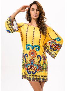 Off Shoulder Women Summer Beach Indian Dress Boho Sexy Bohemian Floral Vintage Dresses Sundress Vestidos Robe Plus Size Dashiki Vestidos Vintage, Mini Vestidos, Vintage Dresses, Cheap Summer Dresses, Sexy Dresses, Mini Dresses, Sheath Dresses, Dress Summer, Evening Dresses
