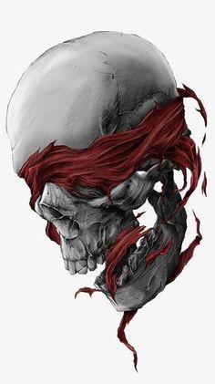 Dimonds Tattoo : Room Decor Gift Diy Diamond Painting Skull And Wolf Cross Stitch Crafts - Buy Me Diamond Skull Tattoos, Body Art Tattoos, Brust Tattoo, Totenkopf Tattoos, Geniale Tattoos, Tatoo Art, Grim Reaper, Skull And Bones, Skull Art