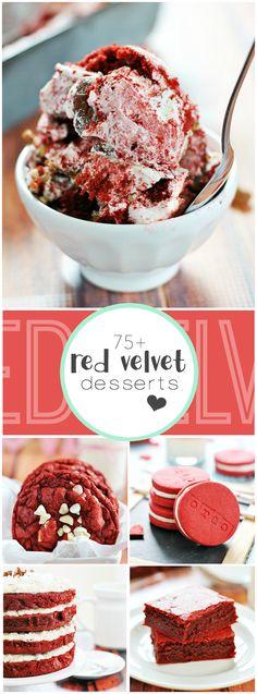 75+ Red Velvet Recipes