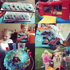 Our Styled Suburban Life: Bradley's First Birthday Breakfast Party!