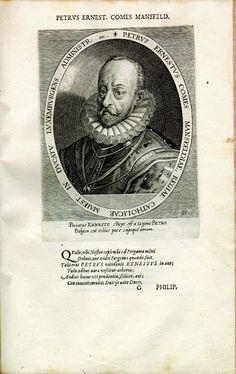 Peter Ernst Graf Mansfeld (1519-1604), Heerführer