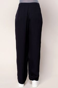 Wide-legged trousers - bozi136 - Blue / Navy 3