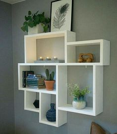 10 Clever Ideas Small Corner Shelves For Living Room Design www. design living room 10 Clever Ideas Small Corner Shelves For Living Room Design Corner Wall Shelves, Wall Shelf Decor, Living Room Shelves, Diy Wall Shelves, Living Room Decor, Bedroom Wall Shelves, Decorative Wall Shelves, Small Shelves, Living Rooms