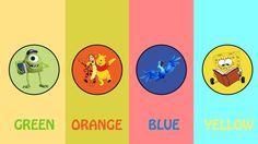 ESTOURANDO BALÕES Aprendendo cores com Rio, Dora, Ursinho Pooh e Bob Esp...