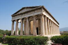Temple of Hephaestus Athens Greece