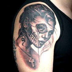 Megan Jean Morris tattoo from Ink Master