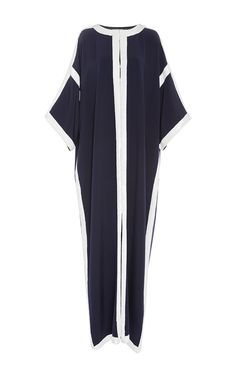 Kimono Sleeve Caftan Dress by CAROLINA HERRERA for Preorder on Moda Operandi