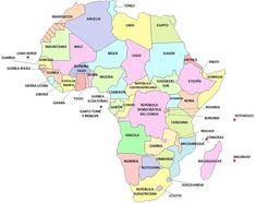 Political Map of GuineaBissau  mapas  Pinterest  Guinea bissau
