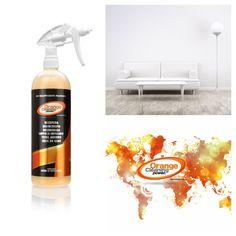 ¿Quieres recuperar el color del cuero original? Sofás, tapicerías, ETC. con el limpiador multiusos Orange Cleaning Power (OCP) BIO RECUPERADOR