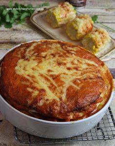 Tortilla Chicken Lasagna  Pie