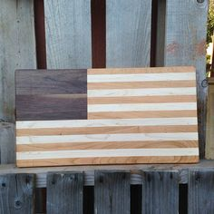USA Flag Board Large by BeingReMade on Etsy