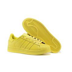 70c3a72dffe0 Uomo Donna Adidas Originals Superstar Supercolor PHARRELL WILLIAMS Bright  Giallo Scarpe S41837