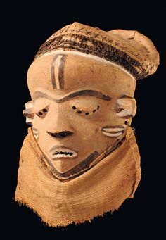 """Face mask """"mbuya"""", D. R. Congo, Pende"""