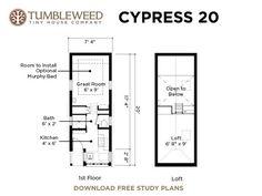 Cypress Tiny House
