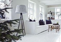 Casinha colorida: Natal na Escandinávia: um décor chique e minimalista