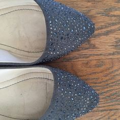 Zara grey flats Great, pre-loved condition. Heels not worn down at all. Zara Shoes Flats & Loafers