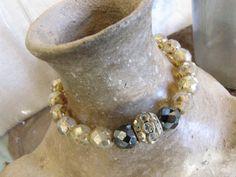 Vintage Rhinestone BOHO Bracelet