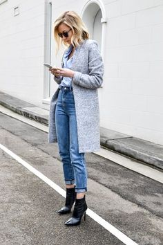 How To Wear A Classic Blue Button-Down Shirt | Le Fashion | Bloglovin'