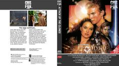 Star Wars Episode 2 Blu-ray Custom Cover