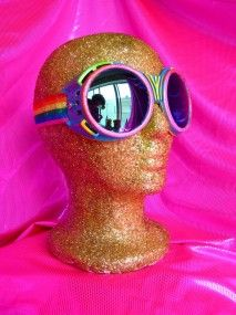 fabulous goggles are very important for Burning Man!