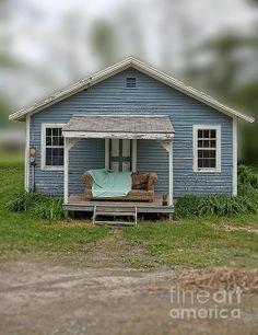 Vermont front porch comfort by fine art photographer Edward M. Fielding - www.edwardfielding.com