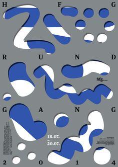 HfG Offenbach Rundgang 2014, Design Anne Krieger/ Typeclass Hfg (Sascha Lobe)