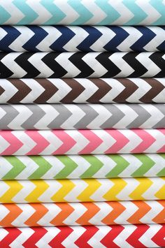 Riley Blake House chevron fabric - I could frame this!