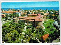 Pesaro - C3203 Pesaro - Panorama e Rocca Costanza - Castello Chateau castle schloss castillo / viaggiata