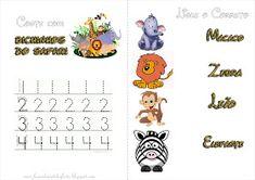 Fazendo a Nossa Festa - Colorir: Safari - Livrinho de Atividades! 1, Leonardo, Comics, Baby, Lion Party, Activity Books, Safari Party, Colouring In, Newborns