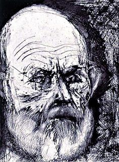 Jim Dine, Self Portrait Blue and Now, 1998 -