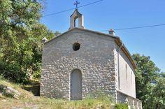 Chapelle Notre-Dame-de-Consolation, above Flassans-sur-Issole. Provence