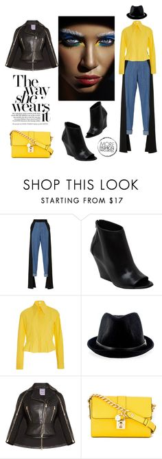 """""""The way she wears it"""" by zabead ❤ liked on Polyvore featuring Hellessy, Strategia, Delpozo, Hervé Léger and Dolce&Gabbana"""