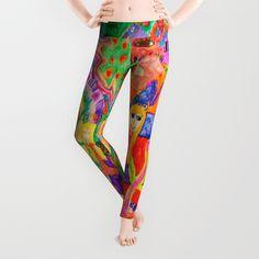 Pop Art World by Elisavet Leggings by azima Pop Art, Art World, 30, Leggings, Arquitetura, Interiors, Art Pop