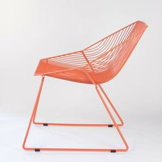 Bunny Lounge Chair Orange