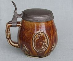 1910s Merkelbach Wick Beer Stein Paul by GoGreenBuyVintage353