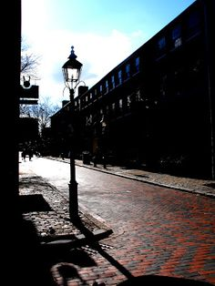 Newburyport, MA in the winter sun