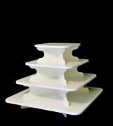 Medium Square Cupcake Stands holds 152 standard size cupcakes