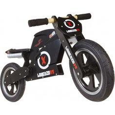 moto de madera para niños de Jorge Lorenzo en El País de los Juguetes
