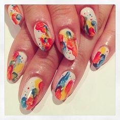 Paint art nails