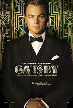 Leonardo DiCaprio in the new poster for The Great Gatsby remake.