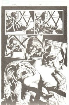 Thunderbolts #112 p.22 - Norman Osborn Goes Crazy - Finished Tight Pencils - 2007